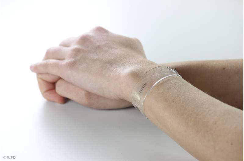 New health monitors are flexible, transparent and graphene enabled