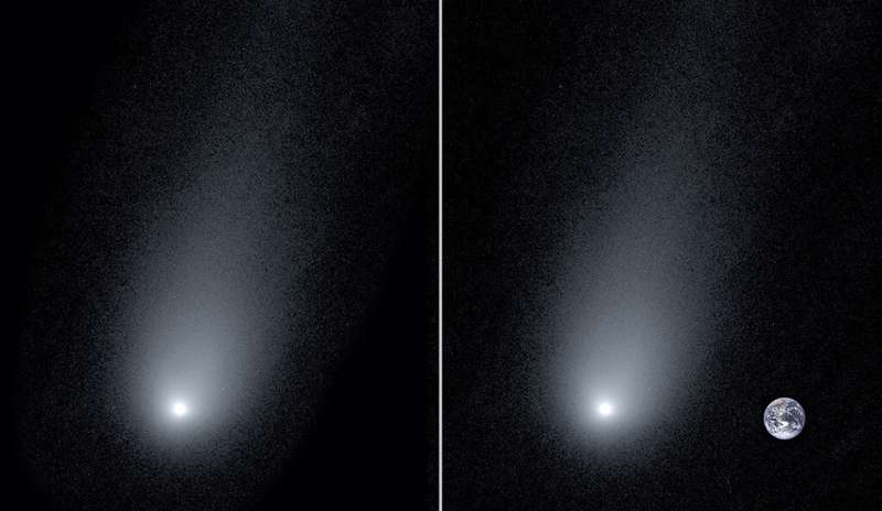 New image offers close-up view of interstellar comet
