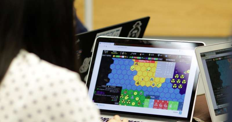 New multi-player game brings out the science of wargames