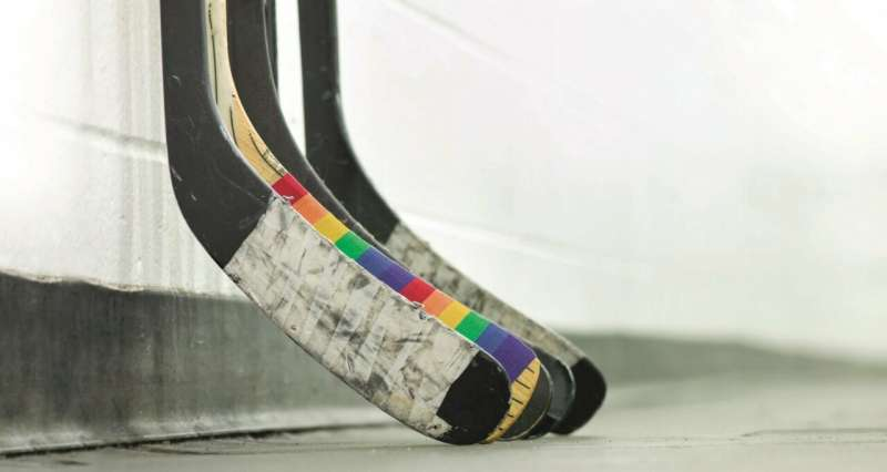 New research offers insights into what keeps gay hockey players from coming out