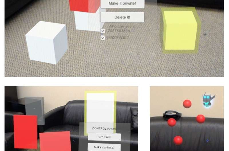 New tools to minimize risks in shared, augmented-reality environments