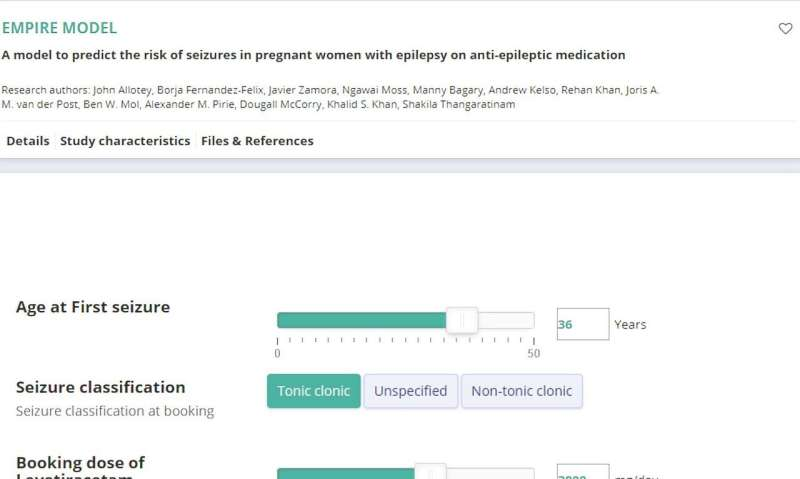 New tool to predict epileptic seizures in pregnancy could save lives