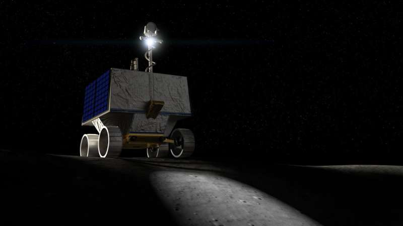 New VIPER lunar rover to map water ice on the moon