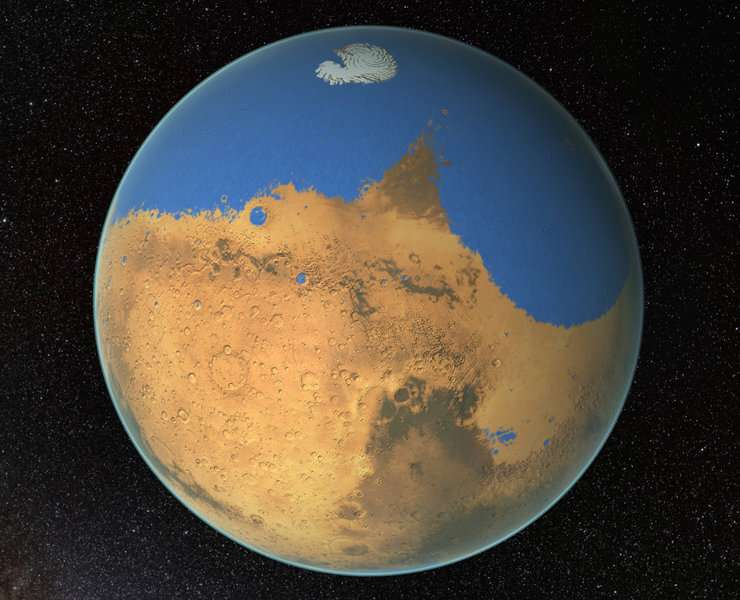 **New water cycle on Mars discovered