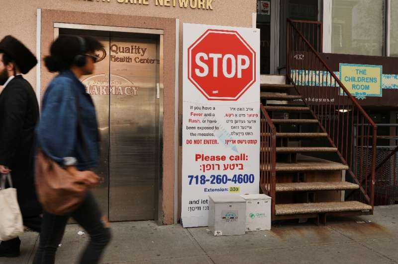 New York made vaccinations mandatory in the worst affected areas to help stem an epidemic of measles in the city—which has now b