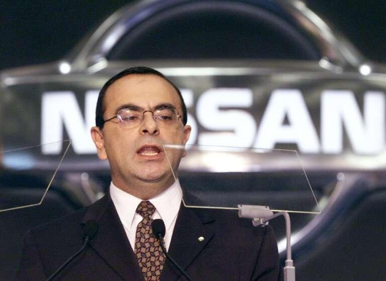 Nissan ex-chairman Carlos Ghosn in happier times