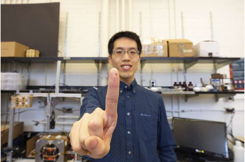 No assembly required: University of Toronto Engineering researchers automate microrobotic designs