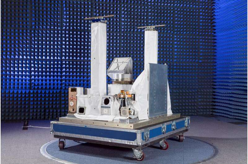 NRL tests sensor on-orbit the ISS to protect space-based assets
