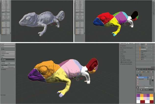 Objects can now change colors like a chameleon