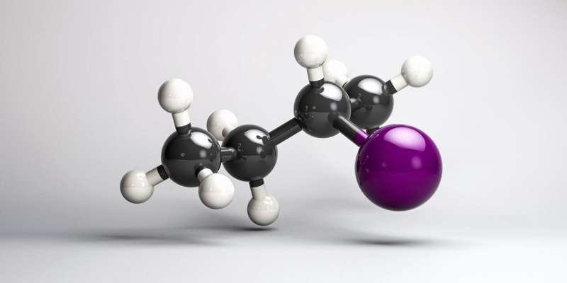 Observing changes in the chirality of molecules in real time