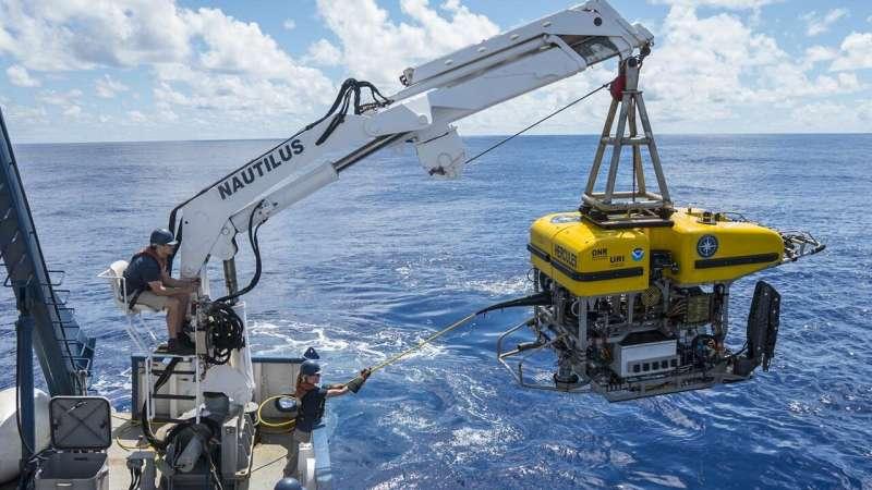 Ocean and space exploration blend at URI's Graduate School of Oceanography