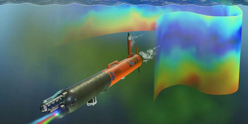 Ocean life in 3-D: Mapping phytoplankton with a smart AUV