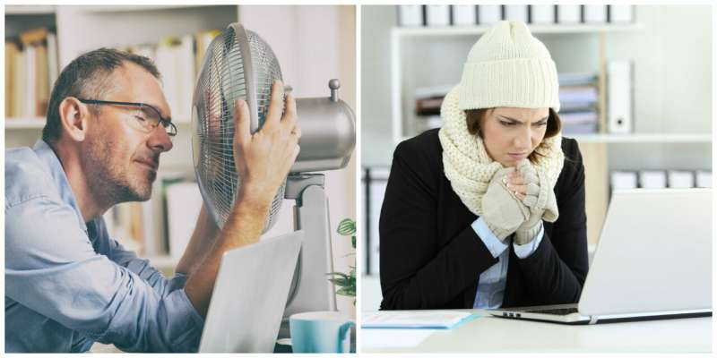 Offices are too hot or too cold – is there a better way to control room temperature?