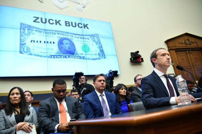 """One key lawmaker pledged to block Facebook's planned digital currency which she called the """"ZuckBuck"""" as a hearing ope"""