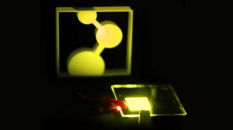 On the way to printable organic light emitting diodes