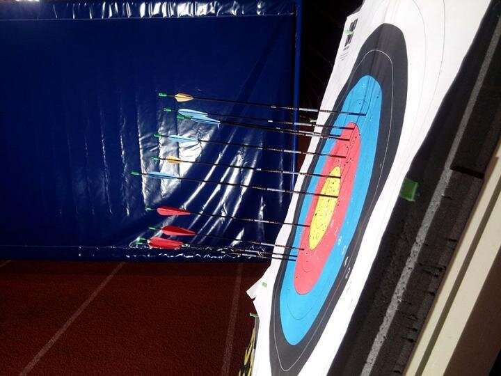 Optimal archery feather design depends on environmental conditions