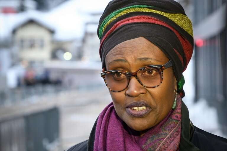 """Oxfam executive director Winnie Byanyima says that """"extreme inequality is out of control"""""""