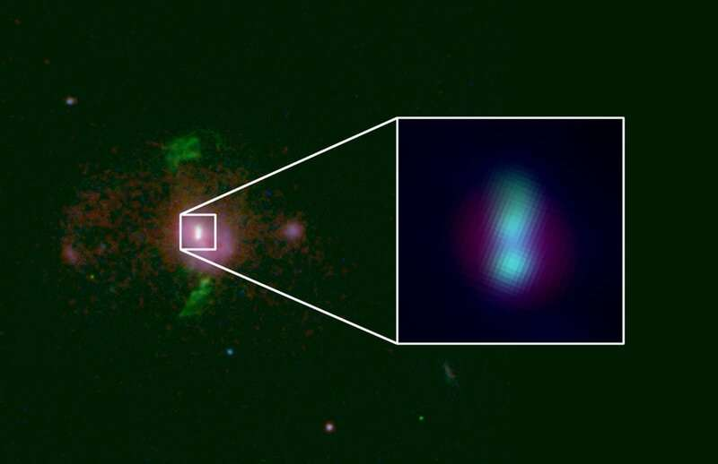 Pair of supermassive black holes discovered on a collision course