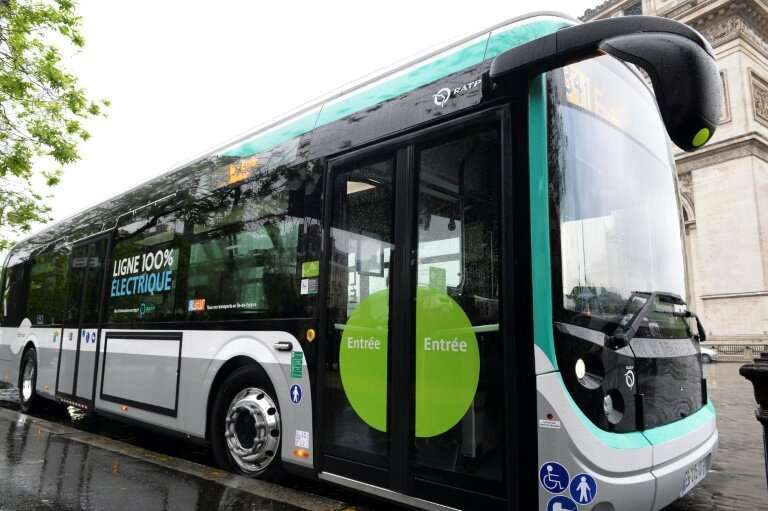Paris currently has one bus line—number 341—operational with electric buses, but the French capital is buying 800 more