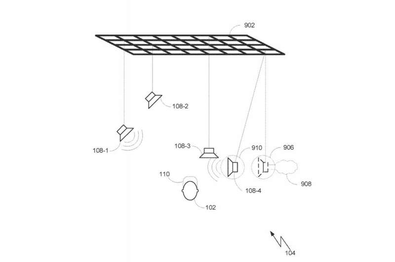 Patent talk: A speaker system idea for virtual reality is explored by Harman