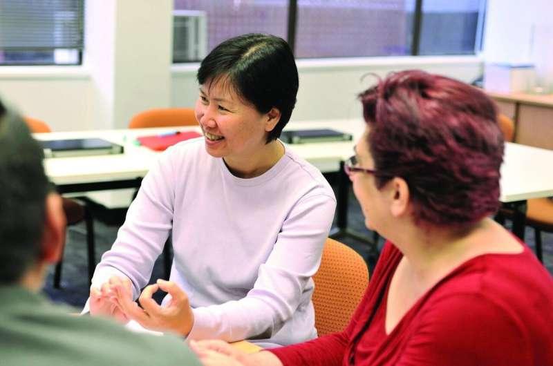 Peer support reduces carer burden