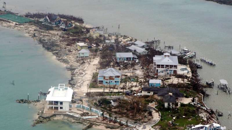 People on Grand Bahama were using jet skis and boats to pluck victims from homes flooded and pulverized by heavy rain and lashin