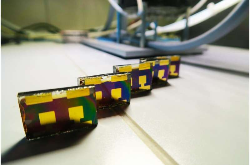 Perovskite solar cells tested for real-world performance -- in the lab