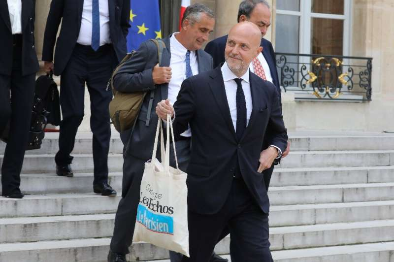 Pierre Louette, chief executive of Les Echos-Le Parisien media group, accused Google of seeking to 'circumvent' the law