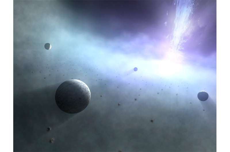 Planets around a black hole? ― calculations show possibility of bizarre worlds