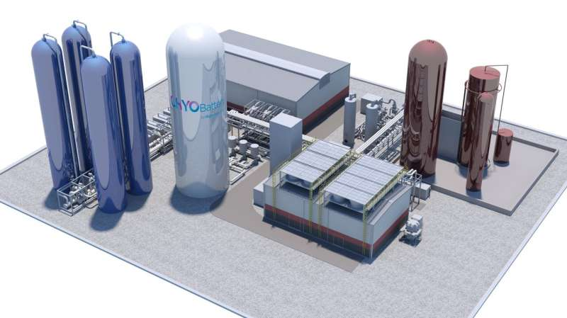 Plans in place to build the U.K.'s first commercial cryogenic energy storage facility