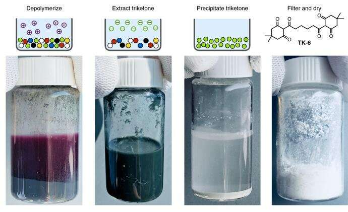 Plastic gets a do-over: Breakthrough discovery recycles plastic from the inside out