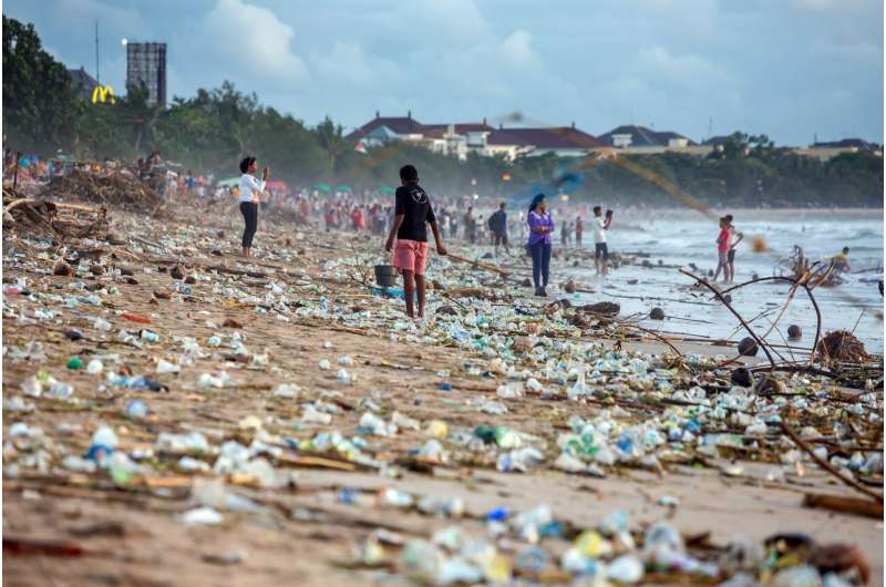 Plastic in the oceans is not the fault of the global south
