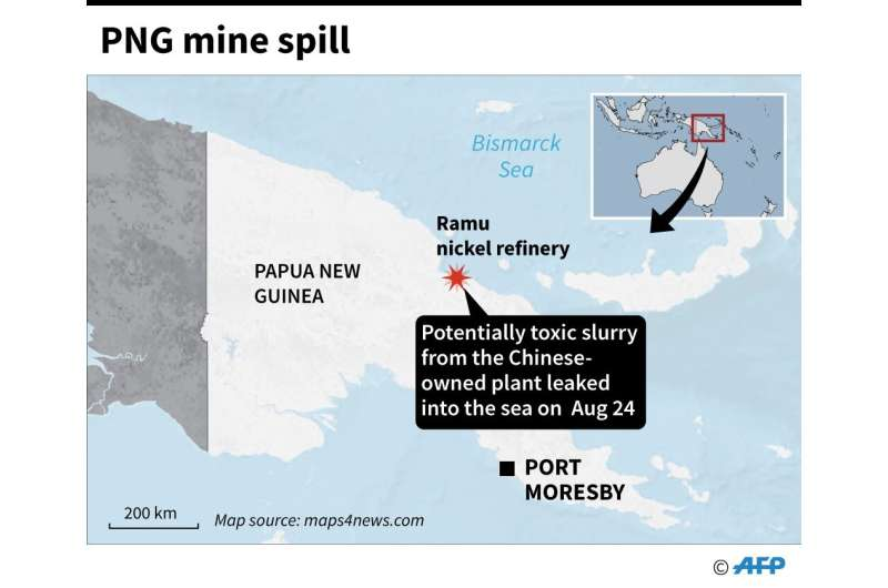 PNG mine spill