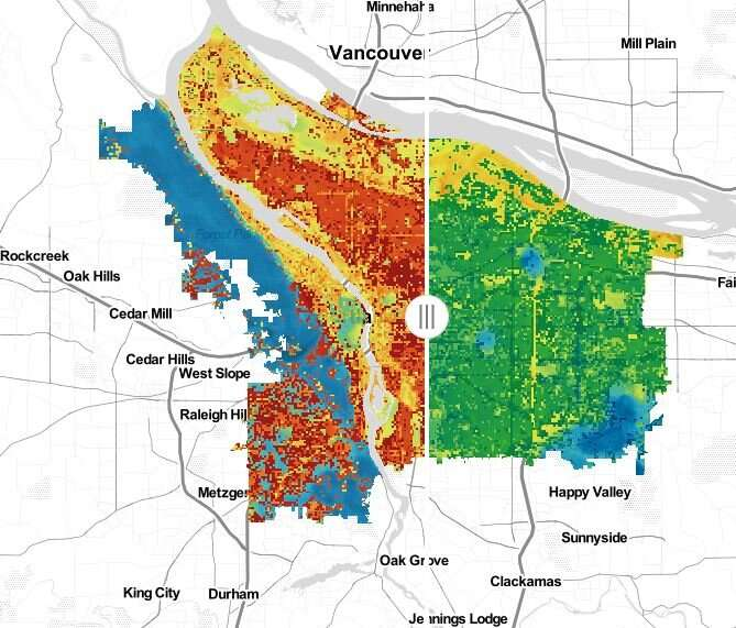 Portland State study shows ways to reduce extreme heat in city neighborhoods