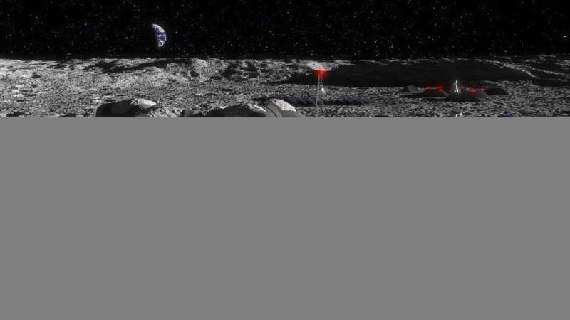 Powering the future with lunar soil