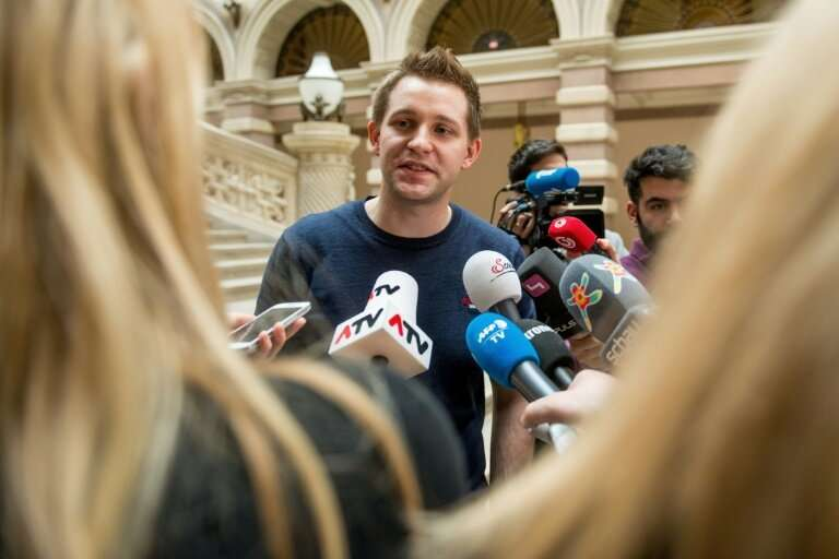 Privacy campaigner Max Schrems, seen here in 2015, said many people were concerned about the lack of access to user data held by