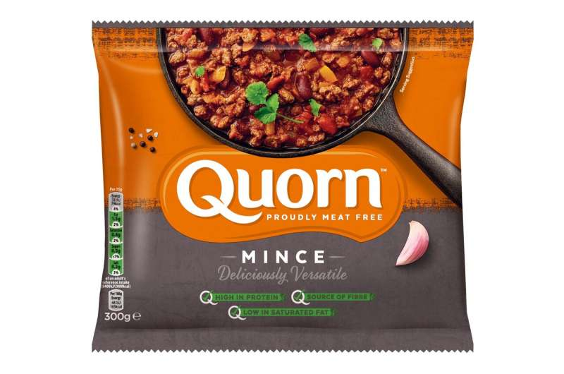 Quorn protein builds muscle better than milk protein