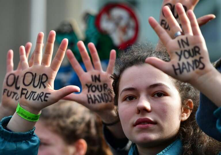 """""""If you don't act like adults, we will""""—banners, slogans and a global cry by young people for politicians to take urge"""