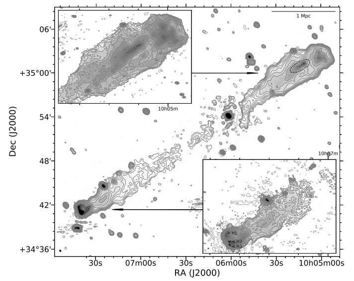 Radio galaxy 3C 236 investigated with LOFAR