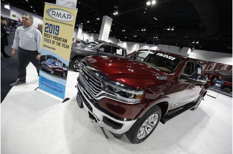 Ram pickups recalled because air bags may not work in crash
