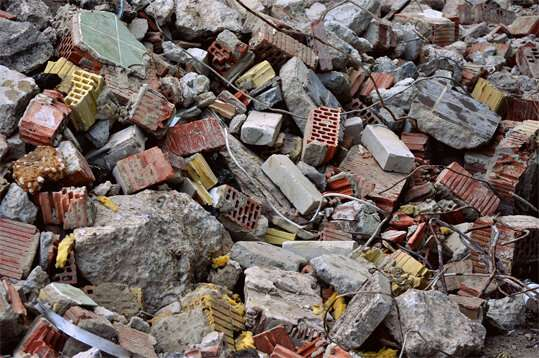 Recycled mortars for building construction