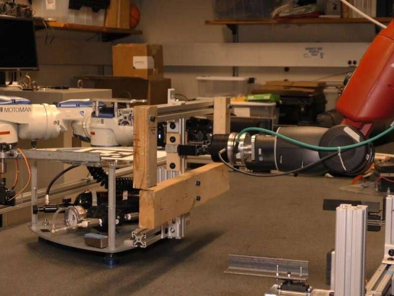 Refueling satellites in space, with the help of a robot