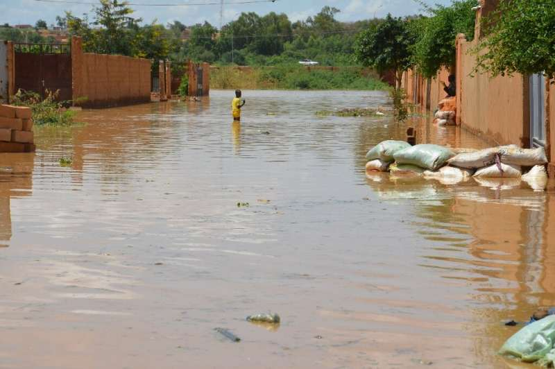 Relentless floods have battered several parts of the city and the rest of the country