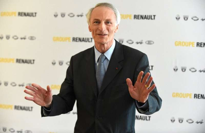 Renault chairman Jean-Dominique Senard at the automaker's headquarters outside Paris on Friday, after the group ousted CEO Thier