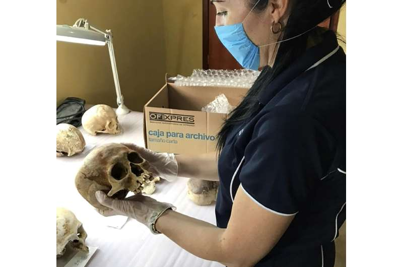 Researcher Alyson Wilson studied the movements of a corpse over 17-months and found humans don't exactly rest in peace