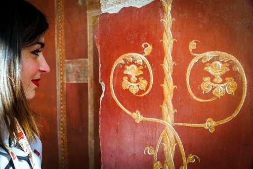 Restored Pompeii gladiator building open to public