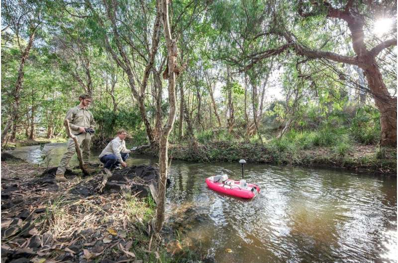 Revolutionizing water quality monitoring for our rivers and reef