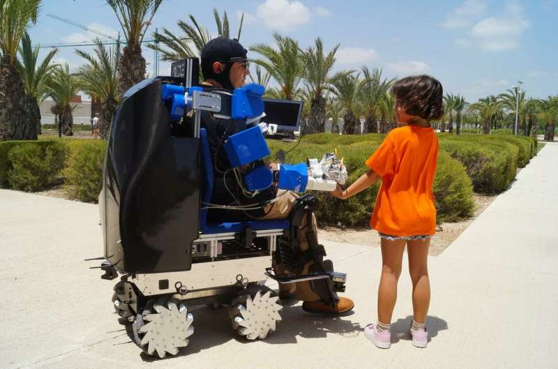 Robotic arms and temporary motorisation – the next generation of wheelchairs