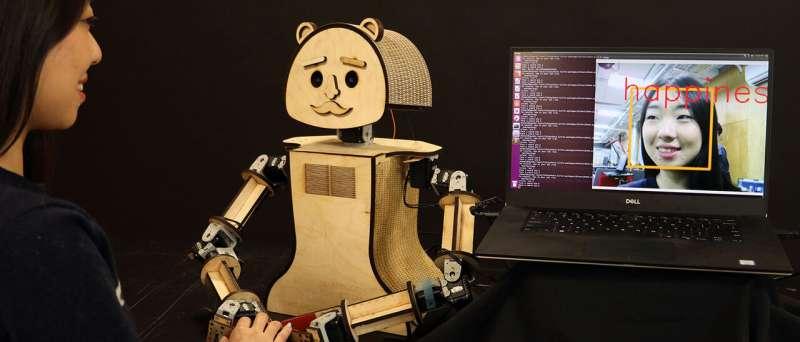 Robots reading feelings