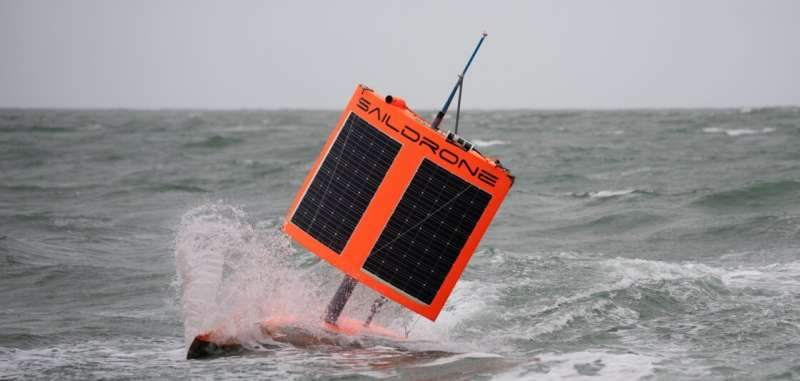Saildrone is first to circumnavigate Antarctica, in search for carbon dioxideAugust 5, 2019